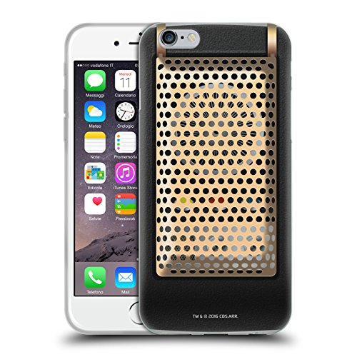 Head Case Designs Officially Licensed Star Trek Communicator Closed Gadgets Soft Gel Case Compatible with Apple iPhone 6 / iPhone 6s