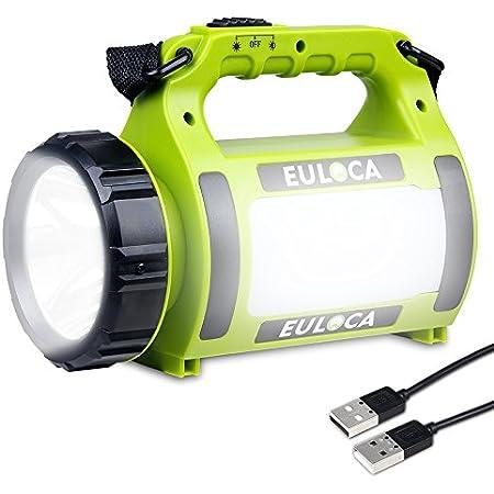 1 W DEL Rechargeable Spotlight Torche Camping Garage Maison Lanterne Lampe