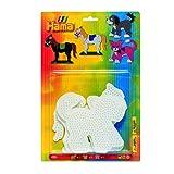 Hama - 4556 Loisirs Créatifs - Blister 3 Plaques pour Perles à Repasser Midi -...