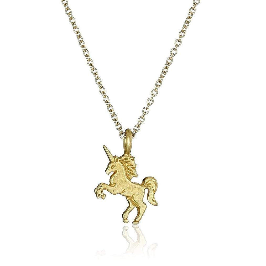 CanB Unicorn Necklace Gold Unicorn Necklace Tiny Unicorn Necklace Unicorn Pendant Necklace for Women and Girls