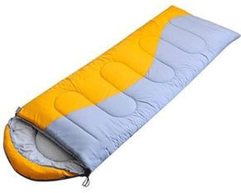 KIOio KIOio KIOio Im Freien verdickter Warmer einzelner Schlafsack, beweglich und leicht, verwendbar für das 3-4 Jahreszeit-Kampieren, wandernd und im Freien (Farbe   Grün) B07PDYX6VD  Neues Design 07aad3