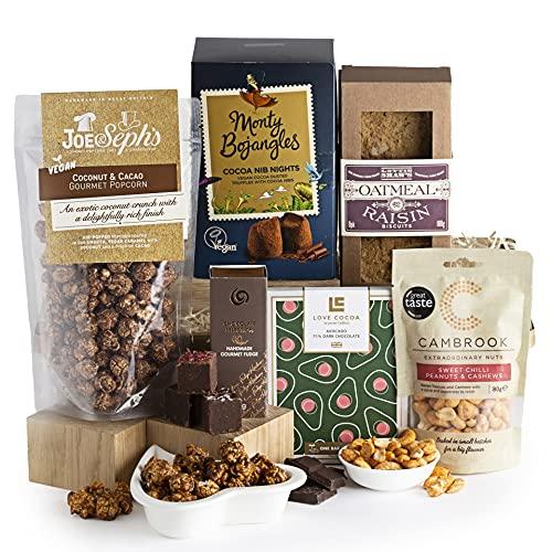 The Vegan Hamper - Luxury Vegan Hampers - Hampers and Gift Baskets for Vegans - Birthday or Thank You Hamper