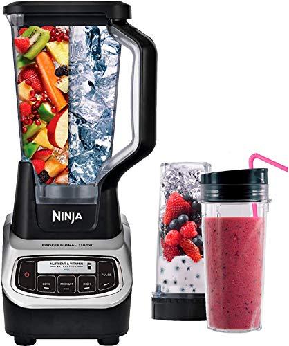 Ninja Professional Blender (BL660) Nutri Ninja Cup (Certified Refurbished)
