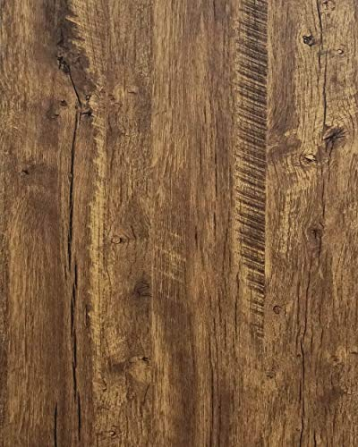 24'X79' Distressed Wood Contact Paper Vintage Wood Wallpaper Peel and Stick Wallpaper Self Removable Wallpaper Wood Grain Contact Paper Decorative Wallpaper for Computer Table Desk Vinyl Shelf Paper