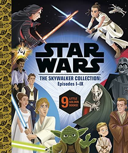 Star Wars Episodes I - IX: A Little Golden Book Collection (Star Wars)