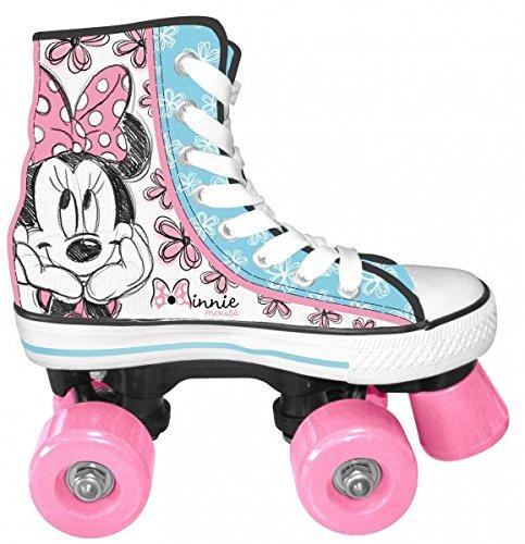 Kinder Rollschuhe Rollschuh Rollerskate Roller Skates Disney Minnie Mouse Gr. 34
