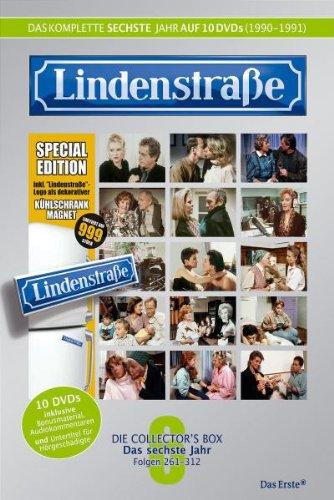 Lindenstraße - Das komplette 6. Jahr (Ltd. Edition mit Kühlschrankmagnet) (10 DVDs)