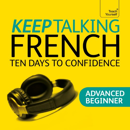 Keep Talking French audiobook cover art