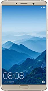 "Huawei Mate 10 ALP-L29 64GB - Dual SIM [Android 8.0, 5.9"" IPS LCD, Hisilicon Kirin 970, Dual 20 MP +12 MP, 4000mAh] (Champagne Gold) - International GSM Version, No Warranty in The US"