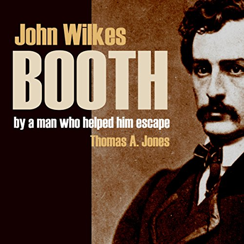 John Wilkes Booth audiobook cover art