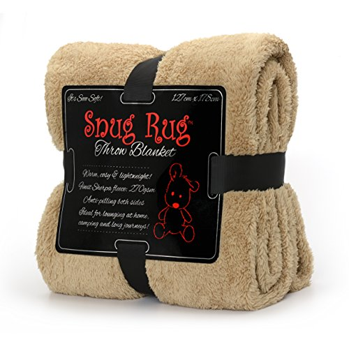 Snug Rug Special Edition Luxury - Manta Lana Sherpa