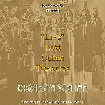 """""""Live"""" Lost Cuban Treasures (Live)"""