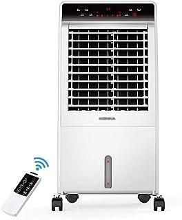 LSX Aire acondicionado portátil: uso doble para frío y calor, purificación doble, tanque de bombeo completo de 8L, botón táctil de control remoto en el hogar, ion ión negativo, aire acondicionado, air