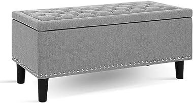 Storage Function Fabric Storage Soft Seat Footrest (???)