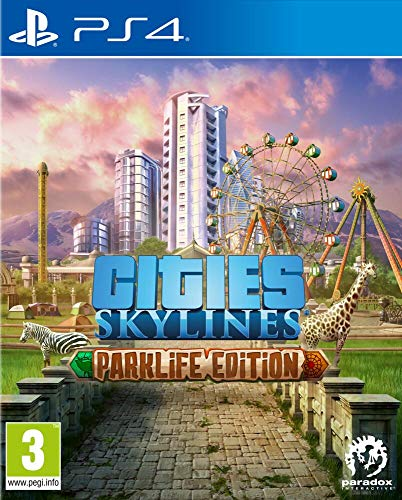 Cities Skylines : Parklife Edition pour PS4