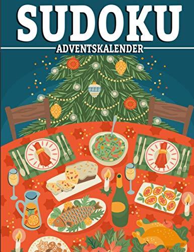 Sudoku Adventskalender: Sudoko Für Erwachsene Alle Ebenen | 1000 Soduko Rätsel 9x9 Mit Lösungen | Logikspiele ... | Großformat |