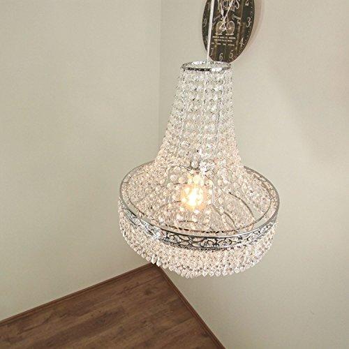 MILANO I Modern Design Lampara de techo colgante Lampara de arana (E27, 60W) pantalla cristallo