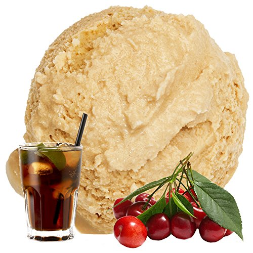 Cola Kirsch Geschmack 1 Kg Gino Gelati Eispulver für Fruchteis Softeispulver Speiseeispulver