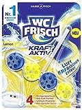 WC-Frisch Kraft Aktiv Duftspüler Lemon, WC-Reiniger mit Lufterfrischer Effekt, 50 g (1er Pack)