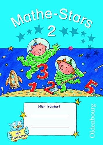 Mathe-Stars - 2. Schuljahr - Übungsheft mit Lösungsheft (Mathe-Stars / Regelkurs)