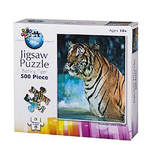 Puzzle Tigre Venecia 500 Piezas Original Jigsaw Dos