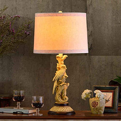 HYY-YY Tafellampen, Personality Simple Europese landelijke platteland Creative Living Room Lights bedlampje, Slaapkamer Villa Reading Night Light