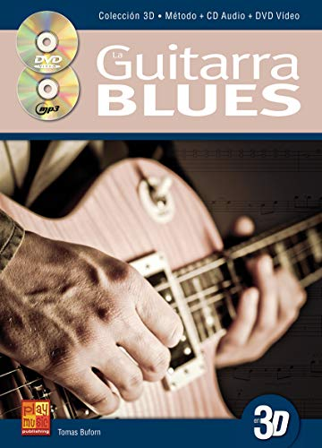 pequeño y compacto Guitarra de blues 3D – 1 libro + 1 CD + 1 DVD