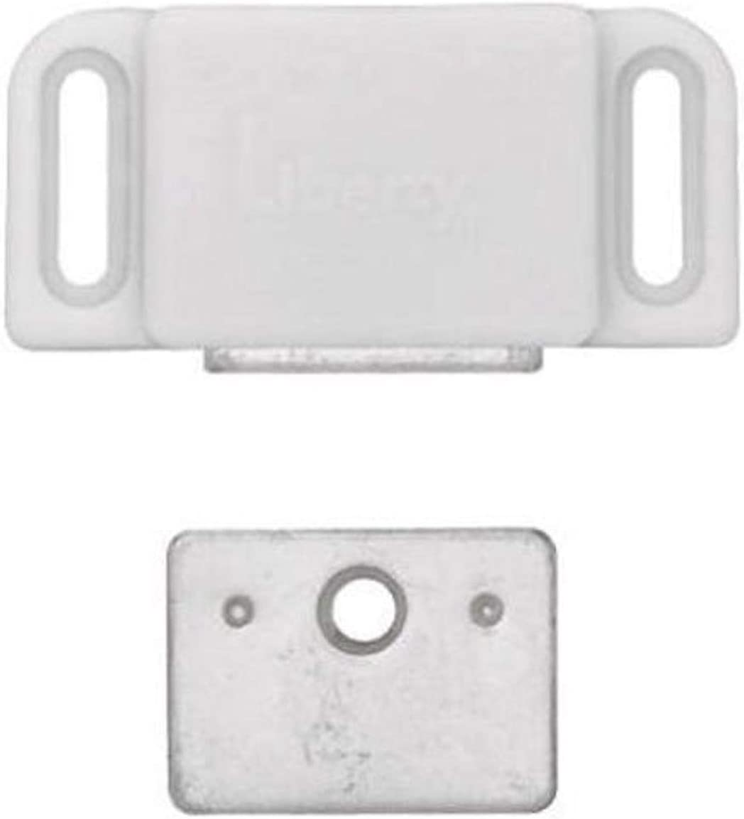 Liberty C080X0L-W-U Heavy Duty Baltimore Mall Sale special price Magnet Catch Strike 2-Pack with