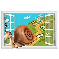 YIBOKANG 3 Dクリエイティブ漫画アニメ動物の壁のステッカー子供部屋幼稚園寝室環境ポリ塩化ビニールの装飾的な壁のステッカー (Color : 8)