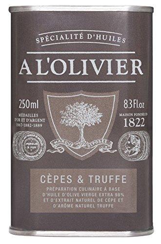 A l'Olivier - Olivenöl mit Steinpilzen & Trüffel - 25 cl