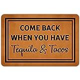 MAZIHAN Vuelva Cuando Tenga Tequila y TaEntrance Alfombrillas de...