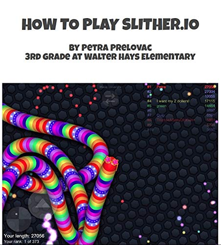 How to Play Slither.io: Practice patience and have fun at the same time (How to by Petra) (English Edition)
