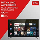 TCL 50EP660 Fernseher 126 cm (50 Zoll) Smart TV (4K UHD, HDR10, Micro Dimming Pro, Android TV, Prime Video, Alexa kompatibel, Google Assistant) Brushed Titanium - 5