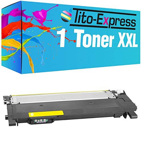 Tito-Express ProSerie 1 Toner giallo XXL compatibile con Samsung CLT-Y404S con 1.500 pagine Xpress C 430 C 430 W C 480 C 480 FN C 480 FW C 480 W C 482 W SL C 430 W SL C 483 SL C 483 FW SL C 483 W