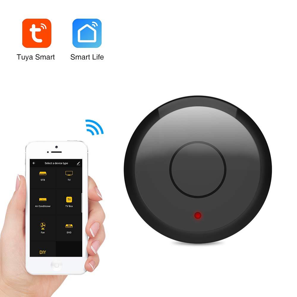 aixi-SHS - Mando a Distancia Universal para televisor (Wi-Fi, IR, Compatible con Amazon Alexa, Google Assistant, TuyaSmart, Smart Life): Amazon.es: Electrónica
