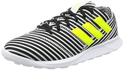 adidas Nemeziz 17.4 TR, Zapatillas de Fútbol para Hombre, Multicolor (Core Black/Solar Yellow/FTWR White), 46 EU