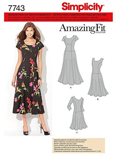 Simplicity Schnittmuster 7743.AA Kleid