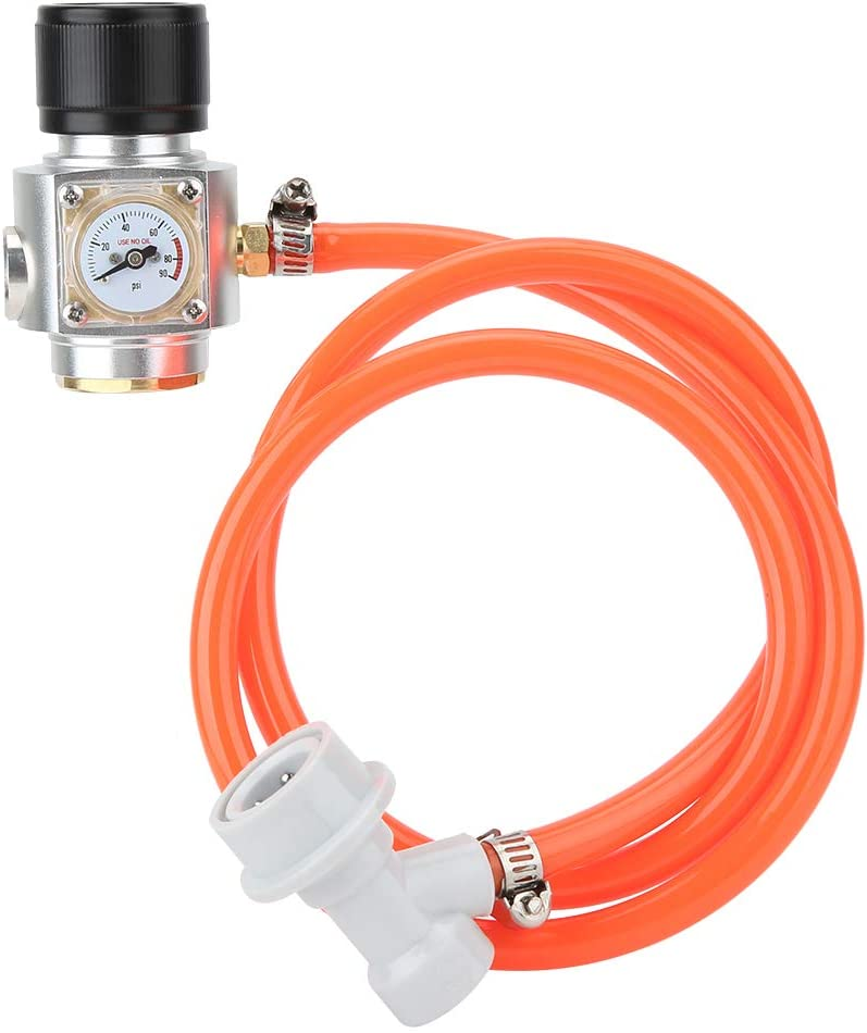 Tr21x4 Thread CO2 Charger Kit Gas Soda B Hose Regulator with Today's only for Washington Mall