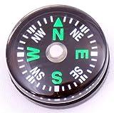 DIELUNY 5pcs Martillos Mini brújulas pequeñas de 20 mm para Kits de Supervivencia