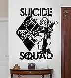 D&C Autocollant mural Harley Quinn DC Comics Suicide Squad (Task Force X)