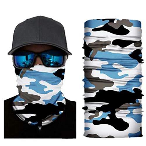 4Clean 3D waschbarer Schlauchschal mit Motiv I Gesichtsmaske mit UV-Schutz I Multifunktionstuch für Motorrad und Radfahren I Deine Mundschutzmaske mit Motiv(Halstuch Herren/Damen) (S181)