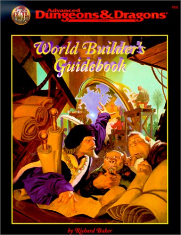 World Builder's Guidebook (Advanced Dungeons & Dragons)
