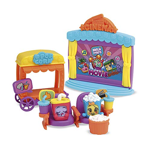MOJIPOPS- Playset I Like Movies Serie 1 Figuras coleccionables, Color surtido (Magic Box PMPSB216IN30)
