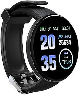 Smartwatch, Reloj Inteligente IP68 con Pulsómetro, Presión Arterial, 7 Modos de Deportes y GPS, Monitor de Sueño Caloría 1.3 Inch Pantalla Táctil Smartwatch para Mujer y Hombre