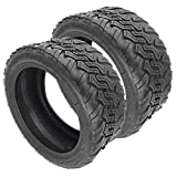 Suading 2Pcs 85/65-6.5 Electric Balance Scooter Off-Road Tubeless Tyre DIY for Pro Balance Scooter Scooter Tires Durable and Strong