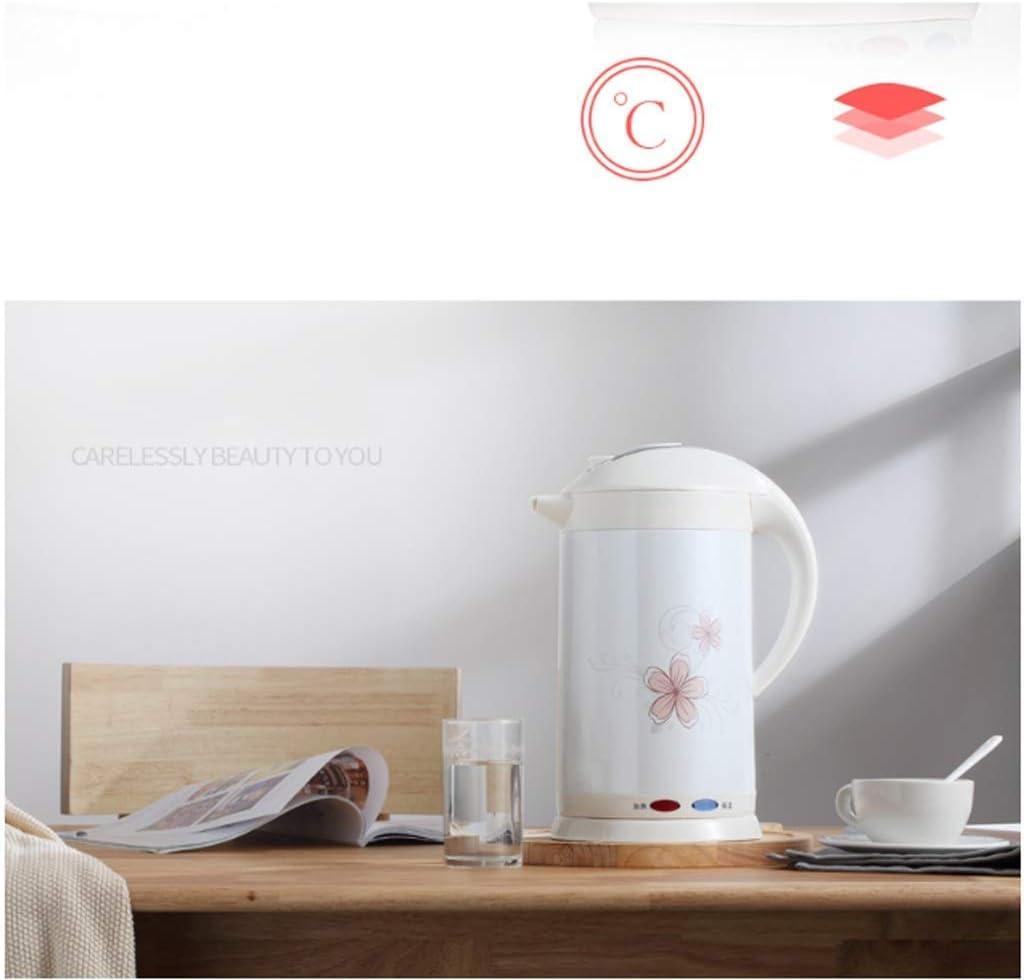 JY Chauffage Électrique Boiling Bouilloire 304 Ménages En Acier Inoxydable Grande Capacité Température Constante Isolation Intégrée accessoires de cuisine/A B