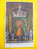 Antigua Postal - Old Postcard : Auténtica reproducción de la Sagrada Imagen de Nuestra Señora, la Santísima Virgen del Pilar. Zaragoza 2 de Enero de 1940