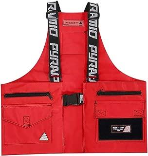 Black Pyramid Men's Streetwear Fashion Splinter Military Vest