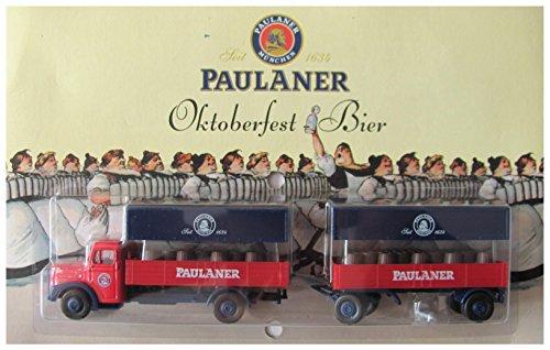 Paulaner Brauerei Nr.08 - Oktoberfest-Bier - Man F8 LH - Hängerzug Oldie