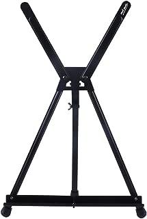 JJJJD 卓上アルミ三角イーゼル、折りたたみ式伸縮イーゼル持ち運びが簡単で、外出先でも使用可能